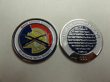 CHALLENGE COIN BASE HONOR GUARD 178TH FIGHTER WING SPRINGFIELD OHIO PROUD MEMBER
