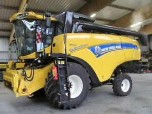 New Holland CX5080 5090 6080 6090 Combine Service Repair Technical Manual