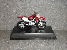 "Honda Cr 125R~Model Dirt Road Bike~Motorcycle~Red/White /Black/Silver~2.5"" x 1.5"""