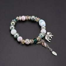 Boho Damen Armband Armkette Armschmuck Schmuck mit Elefant Änhanger Mode JO