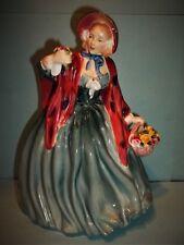 "Royal Doulton  ""Lady Charmian""Figurine~8 1/2"" Tall~HN 1948~TEAL Dress-MINT"