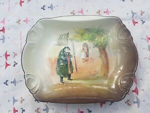 Vintage Art Deco Royal Doulton Tony Weller Tray Plate