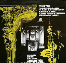 Musica sassofono & Orgel M. Perrin K. Weber LP Motette M 2008 NM/M