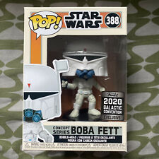 Funko Pop Star Wars Concept Series Boba Fett Galactic Convention 2020 - Free PP