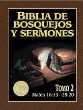 Biblia de Bosquejos y Sermones N. T.: Mateo 2 by Anonimo (1997, Paperback)