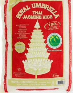 ROYAL UMBRELLA THAI JASMINE RICE 5Kg - Bulk Buy - Thai Rice - Top Quality Rice