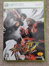 Super Street Fighter IV Japanese Xbox 360