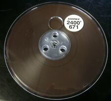 """Lot of 2 Ampex 671  7"""" Reel To Reel 1/4"""" 2400' Tape Sealed never used"""