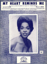 MY HEART REMINDS ME Music Sheet-1957-Stillman/Bargoni-DELLA REESE