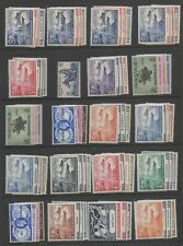 1949 UPU complete omnibus set 310 stamps all MLH mounted mint stamps superb