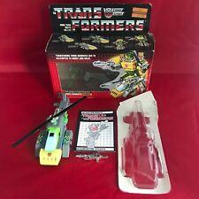 Transformers G1 Vintage Triplechanger Springer - Metal Chest - Complete - Boxed
