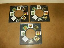 3 X ORIGINAL FACTORY RECORDS SLEEVE 45 RPM - IMPERIAL  RECORDS  (83)