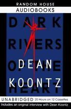 Dark Rivers of the Heart Dean Koontz Audiobook Cassette Unabridge Christmas Gift