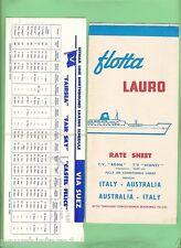 #D76.  TEN 1960s TRAVEL BROCHURES, BRITAIN, JAPAN, EUROPE, MALAYA  etc