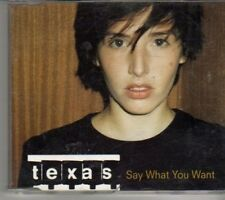 (CT187) Texas, Say What You Want - 1997 CD