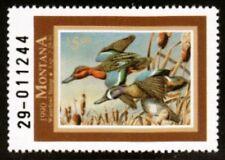 MT5 Montana  State Duck Stamp. MNH. 1990.  Single