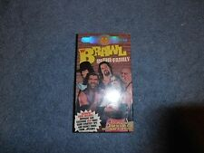 BRAWL IN THE FAMILY wwf BRAND NEW wrestling vhs FACTORY SEALED