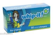 10 boxes of 50- 500 Cream Chargers Nitrous Oxide N2O WHIP-IT FS WHIPPED WHIPPET