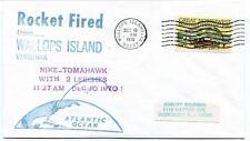 1970 Wallops Island ROCKET FIRED Nike-Tomahawk w 2 Leeches WFF Goddard Base NASA