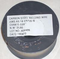 4 lbs Victor Firepower ER70S-6 Mild Steel Mig Welding Wire 2lb Rolls .035