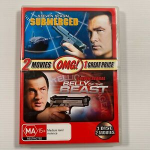 Belly Of The Beast / Submerged (DVD 2011) Steven Seagal Region 4