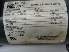 Hill House Products Vari Speed Dc Motor 22256800 Hp With Grove Gearbox
