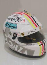 Conversion  Arai helmet, Sebastian Vettel Ferrari 1/2 scale, GP Monza 2018,