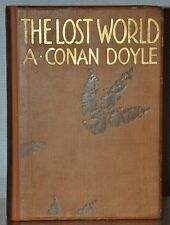 FIRST DELUXE LARGE EDITION ~ THE LOST WORLD ~ ARTHUR CONAN DOYLE