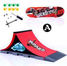 Mini Skate Park Ramp Parts For Deck Fingerboard Finger Skateboard Parks Ramp Q
