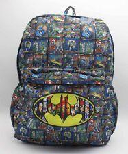 "17"" DC Batman sac à dos Laptop Sac D'école Cosplay Anime Sac Bandoulière"