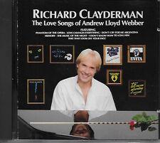 Richard Clayderman – The Love Songs Of Andrew Lloyd Webber CD 1989