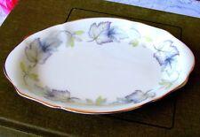 Royal Albert Silver Maple Regal Tray, English Bone China Maple Leaf Candy Dish