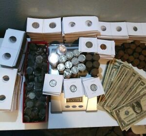 COIN ESTATE COLLECTION SALE!! SILVER ~ US COINS ~ FOREIGN COINS ~ FREE SHIPPING!