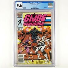 G.I. Joe Yearbook #3 (1987, Marvel) Newsstand! CGC 9.6, White Pages
