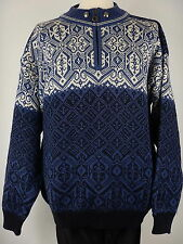 Christiania Mens Icelandic Norweigan Nodic Winter Jumper Sweater Size Large