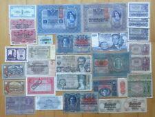 Österreich, Lot Geldscheine mit unterschiedlicher Erhaltung