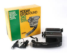 SUPER-8 KODAK EKTASOUND 240, BOXED, UNTESTED, AS-IS/cks/192307
