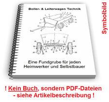 Bollerwagen selbst bauen - Leiterwagen Handwagen für Kinder Technik Patente