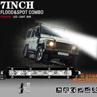 18W LED Work Spot Light Bar Lamp Driving Fog Offroad Spotlight SUV Car Truck bvg