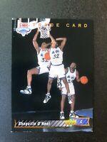 1992-93 Upper Deck Shaquille O'Neal #1B TRADE CARD ROOKIE RC MAGIC HOF 🏆🏆🏆🏆2