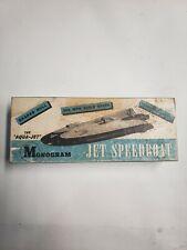Vintage Monogram wood Model The Aqua Jet / Jet speed Boat