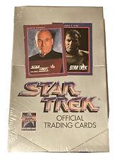 Vtg 1991 Star Trek 25th Anniversary Official Trading Cards Box 36 Packs SEALED