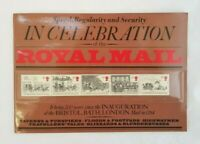 In Celebration of the Royal Mail Special Collectors Book with Stamps Souvenir VG