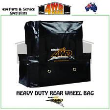 ROADSAFE 4WD HEAVY DUTY REAR WHEEL RUBBISH BAG PVC 60L EASY CLEAN 4X4 CAMPING