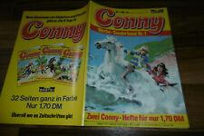 CONNY # 1+2 -- HERA das WUNDERPFERD+EINE / MÄDCHEN-PFERDE-COMIC-ABENTEUER / 1980