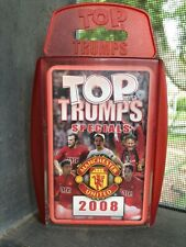 TOP TRUMPS SPECIALS 2008 Manchester United Pack Card With Ronaldo And Rooney