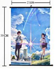 Anime Your Name Kimi No Na Wa Wall Poster Scroll Home Decor Cosplay s1091