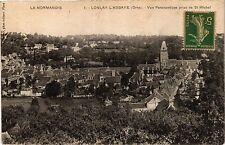 CPA  La Normandie - Lonlay l'Abbaye (Orne) - Vue Panoramique prise de   (435197)