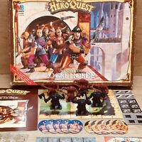 Heroquest Against The Ogre Horde Expansion Boxed! MB/Games Workshop