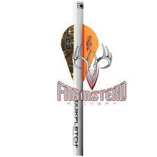 Bohning Blazer QuikFletch Shrink Fletch Orange/ Camo 6pk Quick 23052 Arrow Quik